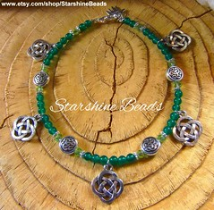 Celtic Anklet (starshine9160) Tags: irish green jewelry celtic spiritual anklet pagan celticjewelry irishjewelry