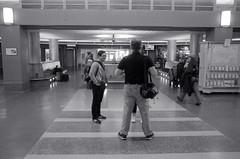 Getting the Shot inside the Station (Bill Smith1) Tags: hc110b olympusom4 hamiltonon berggerbrf400 zuiko50f14lens filmshooterscollective torontofilmshootersmeetup classiccamerarevival spring2016 billsmithsphotography