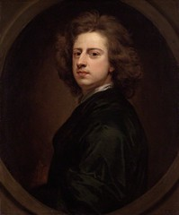 Self-portrait, 1685 // by Sir Godfrey Kneller (Germany, 1646 - 1723) (mike catalonian) Tags: portrait selfportrait male germany painting baroque 1685 xviicentury 1680s