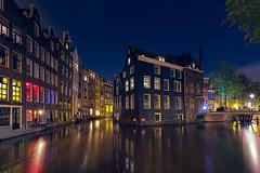 Amsterdam bei Nacht (radonracer) Tags: holland london netherlands amsterdam night nachtaufnahme langzeitbelichtung