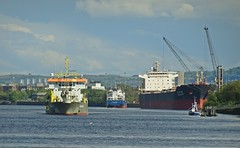 Shipping On The Clyde (Bricheno) Tags: river scotland riverclyde clyde boat ship escocia freeway szkocja renfrew schottland scozia renfrewshire cosse kgv  esccia   bricheno scoia