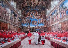 Papa Francesco (pefkosmad) Tags: pope vatican rome francis hobby puzzle leisure jigsaw sistinechapel pastime holyfather clementoni lifeseries 1500pieces papafrancesco highqualitycollection