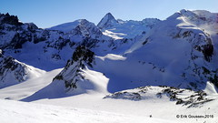 Day 5: The icey descent to the Glacier du Mont Collon. (Erik.G.) Tags: zermatt chamonix skitouring skitour hauteroute valsorey plateauducouloir