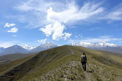 Ridgewalking above Huaraz - views of the Cordillera Blanca (*Andrea B) Tags: peru america spring hiking south hike april huaraz 2016 ancash april2016