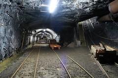 Gonzen Mine - Main Station (Kecko) Tags: underground geotagged army schweiz switzerland europe mine suisse swiss military kecko ostschweiz bahnhof tunnel sg svizzera armee militr stollen 2016 militaer sargans bergwerk vild gonzen trbbach swissphoto wartau geo:lat=47074010 geo:lon=9449170 gonzenbergwerk