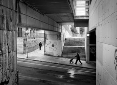 in explore 16-05-16 (Sergio Mora-Gil Crespo) Tags: street people bw stairs hill