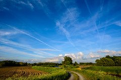 Alongside the river Dijle (geert.dehert) Tags: blue green nature clouds river landscape nikon path naturephotography landscapephotography naturephotographer landscapephotographer