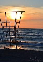 Waters12-1 (lee_siegel1) Tags: sunset tower beach nature water beautiful fun sand lifeguard lifeguardtower grandbend
