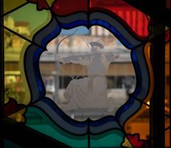 Bogenschtze (swissgoldeneagle) Tags: window glass russia decorative painted siberia d750 glasmalerei archer pane ru leadlight glasscheibe bemalt russland scheibe ulanude sibirien  bleiglasfenster verziert bogenschtze bogenschuetze burjatien   siberianfederaldistrict  buryatiyarepublits