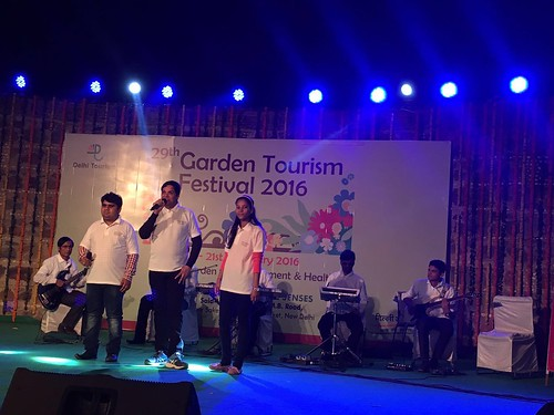 Garden Tourism Festival 2016: Live music performance.
