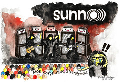 Sunn O (krisalidavzla) Tags: france festival rock metal illustration venezuela band vibes francia nantes psych vibration metalhead hellfest drone sunno clisson decibels metalleux krisalida hellfest2016
