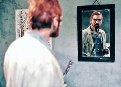 The Eyes of Van Gogh (Alexander Barnett) Tags: productionstillsfromthefilmtheeyesofvangogh vincentfeelsanattackofmadnesscomingon alexanderbarnett asylumatstremy hallucinations