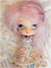 Starry'Clouds  (Pliash) Tags: dal doll custom cute kawaii pullip groove pinocchio pink clouds madeleinedolls madeleine dolls full