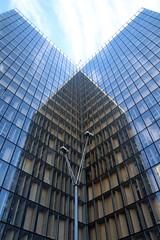 L'envol (Nadia L*) Tags: bnf paris ombre shadows reflets reflection vitre glass