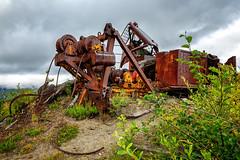 Survivor (KPortin) Tags: coldwaterridge loggingequipment mountsthelensnationalvolcanicmonument rusting rustyandcrusty