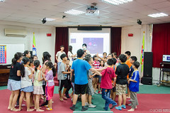 DSC_0486 (roger528852momo) Tags: 2016           little staff person explore summer camp hokuzine ever worker china youth corps ying qiao elementary school arduino robot food processing workshop taipei taiwan roger huang roger528852momo