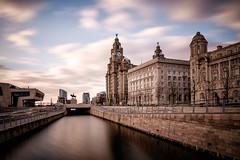 Liverpool - England (Nobsta) Tags: sunset england liverpool dock fuji sonnenuntergang fujinon xpro1 architektur nikcolorefex