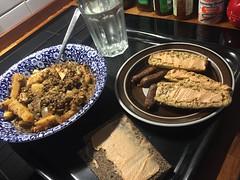 Krger'n tipsar 14/9 (Atomeyes) Tags: mat linsgryta fisk sej fil mejram skorpor surdeg kncke lax pastej viltsnacks lime vatten