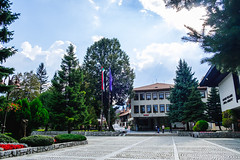Bansko Town Center I (Daniel Feivor) Tags: bansko bulgaria city urban town skiresort ski