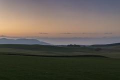 Midlothian, Sunset, Mist & Distant Edinburgh (Colin Myers Photography) Tags: sunset sun colin set photography scotland countryside scottish mid lothian myers midlothian scottishsunset scotlandsunset colinmyersphotography
