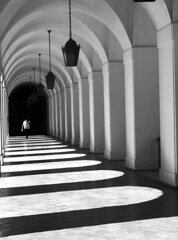 White Arches (AngelK32) Tags: california usa america afternoon unitedstates cityhall arches spanish socal pasadena em10 1442mm microfourthirds