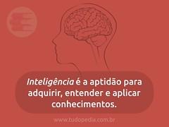 Inteligência (tudopedia) Tags: pensamentos frases texto pensamento mensagem frase reflexão inteligente inteligência significado refletir mensagens tudopédia