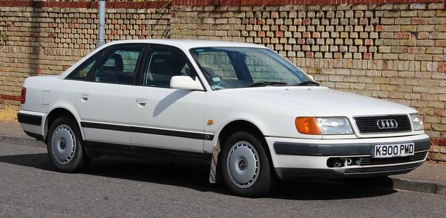 auto exeter 1992 100 audi 28e mannegerton