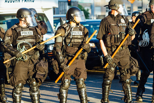Seattle Riot Police by AdamCohn, on Flickr