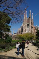 Sagrada Familia (Natali Antonovich) Tags: barcelona art church architecture landscape spain couple pair faith lifestyle style catalonia artnouveau together harmony sagradafamilia synthesis antonigaud faithhopelove heandshe barcelonacathedral sunnybarcelona mystiquegaudi
