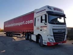 Bywater Transport - GJ16 MMU (Daz Scott) Tags: 6 euro transport 16 reg bywater daf xf