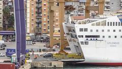 SPLENDID (LeHavreShips) Tags: palermo splendid disembarkation carferries sterndoor
