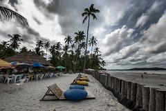 Brazil - Tamandar (Nailton Barbosa) Tags: brazil praia brasil mar nikon bresil restaurante brasilien dos pe litoral bora pernambuco oceano nordeste brsil carneiros tamandar arrecifes d80 sirinhaem brasilie