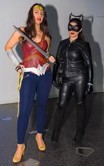 Basel Fantasy 2016 Cosplay, Catwoman und Wonderwoman