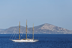 Three masted schooner (bbarekas) Tags: sea white day sailing yacht sunny greece schooner attiki vouliagmeni threemasted