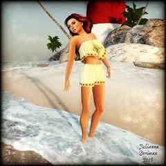 Beach Babe (JuliannaSeriman) Tags: free secondlife sweetintoxication fabfree fabulouslyfree fabulouslyfreeinsl slhunt huntsl deluxebodyfactory juliannaseriman