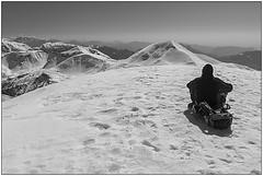 Meditazione - Meditation (Matteo Bersani) Tags: snow neve meditation lombardia solitudine a58 meditazione montagnamountain pianidiartavaggio sonyalphaitalia cimadipiazzo bwbwbnblackwhitebianconero