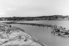 Guriskjret seen through The Big Stopper (Normann Photography) Tags: blackandwhite bw seascape monochrome norway no shore bnw vestfold ndfilter leefilters monoart thebigstopper