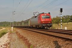 IC 721 - Virtudes (valeriodossantos) Tags: portugal train 5600 cp azambuja comboio rpido virtudes corail passageiros caminhosdeferro intercidades carruagens linhadonorte cplongocurso locomotivaseltricas