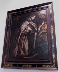 """St Franois en prire"", 1608-1625, El Greco, sacristie de l'glise de l'hpital de Tavera (XVIe sicle), Tolde, Castille-La Manche, Espagne. (byb64) Tags: sanfrancisco city portrait church painting town spain europa europe retrato iglesia kirche eu ciudad peinture chiesa espana toledo igreja stadt panteon tableau 16th altstadt espagne glise ritratto renaissance ville spanien 17th pintura spagna citta ue cinquecento panthon elgreco cuadro rinascimento lerma hpital castillalamancha renacimiento vieilleville stfranois tolde medinaceli tavera duquedelerma sacristia igrexa prire cascohistorico xviie sacristie xvie hospitaldetavera pregar castillelamanche legreco cardenaltavera stfranoisenprire"