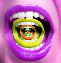 mouthdifferentcolours (akshaykalson) Tags: art photoshop mouth dark trippy darkart
