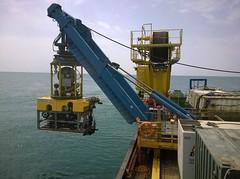 ROV azerbaijan (GEOCOSTE) Tags: gas survey rov caspiansea saipem geophysical shahdeniz geocoste