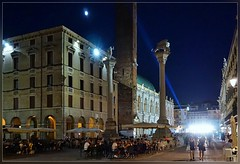 Piazza dei signori ,Vicenza (T.S.Photo (Teodor Sirbu)) Tags: summer italy architecture night italia piazza vicenza