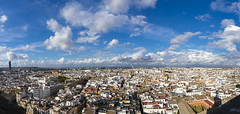 Panorama of Seville (BoXed_FisH) Tags: city travel panorama landscape sevilla andaluca spain europe cityscape cathedral sony wideangle seville es a7 sonyzeiss sonya7 sel1635z sony1635mmvariotessartfef4zaoss sonyzeiss1635f4oss