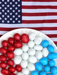 Memorial Day Weekend (Baking is my Zen) Tags: candy americanflag mm redwhiteblue usflag memorialdayweekend canonrebelt1i photobycarmenortiz