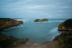 Bay of Martyrs (stevecart84) Tags: rocks sea water greatoceanroad nikon d80 longexposure outdoors australia cliffs