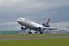 MD-11 Lufthansa Cargo (JHall1091) Tags: douglas md11 mcdonnell trijet lufthansacargo
