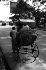 Burden.. (ShahedMech) Tags: life rickshaw burden loads