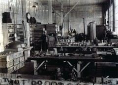Man in workshop, circa 1900 (Seattle Municipal Archives) Tags: seattle work workers working tools 1900s workshops seattlemunicipalarchives