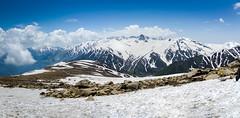 Gulmarg - Kashmir, India (Parth_Joshi) Tags: india snow mountains nature clouds nikon kashmir gandola gulmarg d7000