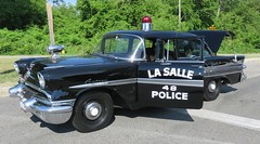 Vintage Police (Hear and Their) Tags: ontario festival strawberry police parade lasalle 2016